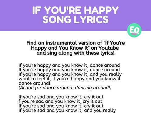 """If You're Happy"" Song Lyrics"