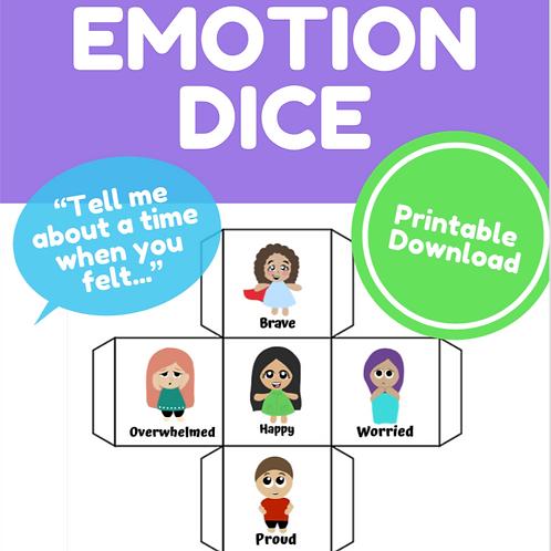 Emotion Dice Game