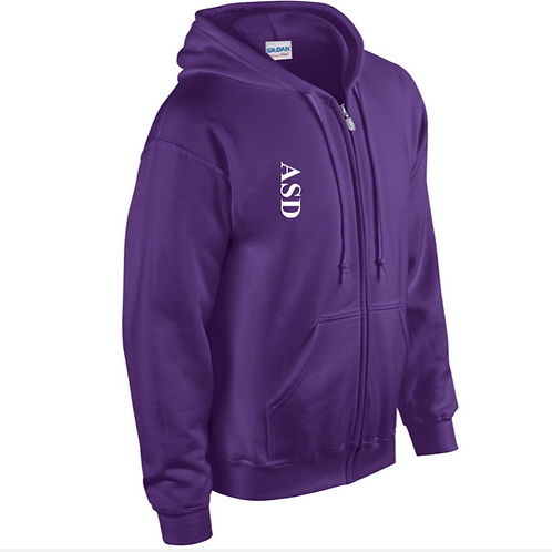 ASD polar fleece hooded jacket (Adult sizes only)