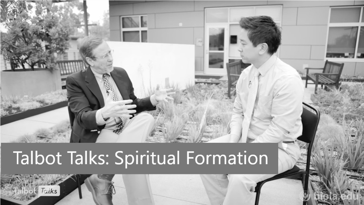Talbot Talks: Spiritual Formation