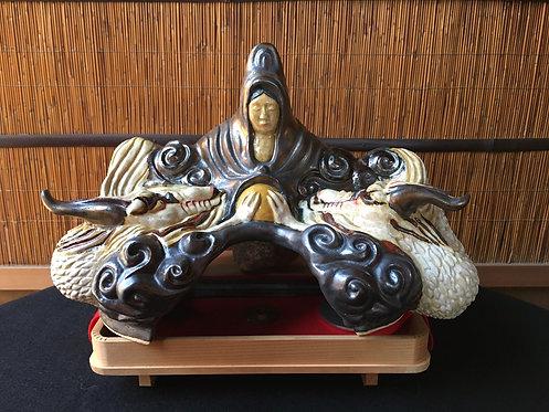 弁財天と白龍大神像