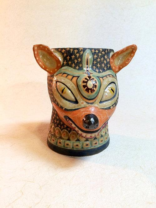 霊獣ひいろ紋様鉢