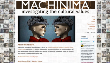 Machinima: Investigating the Cultural Values