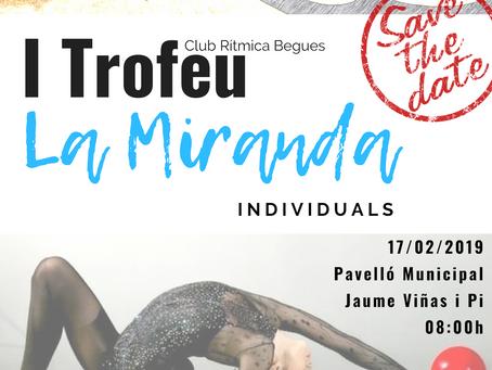 """I TROFEU """"LA MIRANDA"""" INDIVIDUALS 17/02/2019"""