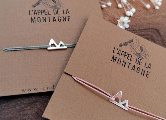 """L'appel de la montagne """"bracelet Mimaz"""""""