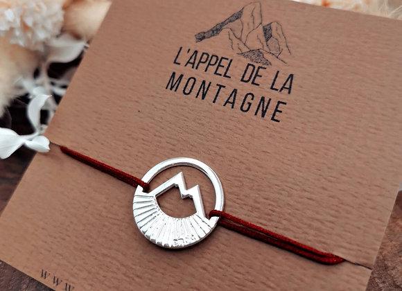 """L'appel de la montagne """"bracelet Solstice"""""""