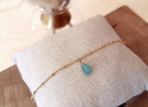 Bracelet  Minela, Amazonite
