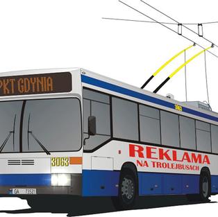 Trolley buses in Gdynia