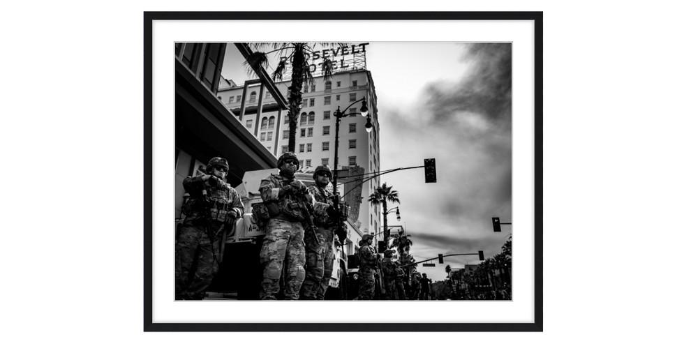 National Guard Observe