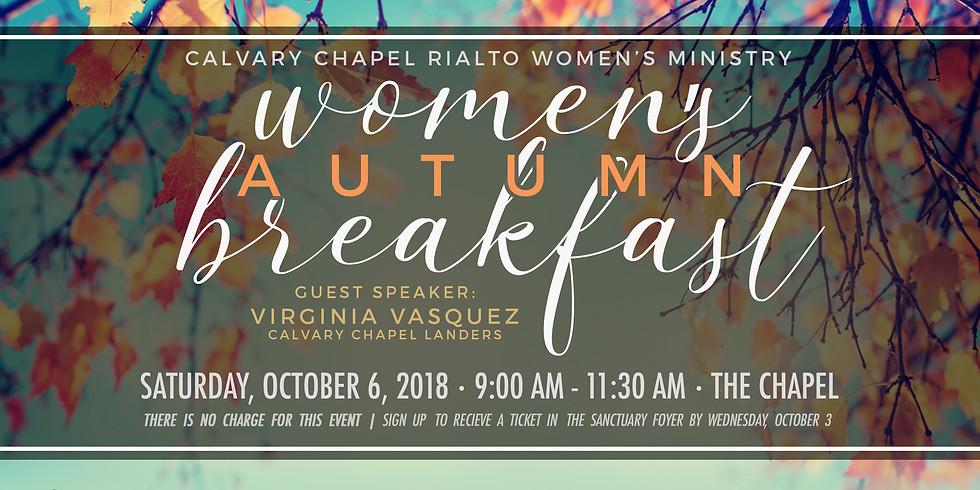 Women's Autumn Breakfast