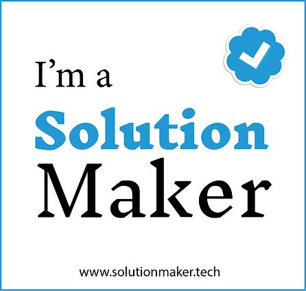 I m a Solution Maker