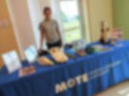 Mote Marine Table w Gina.jpg