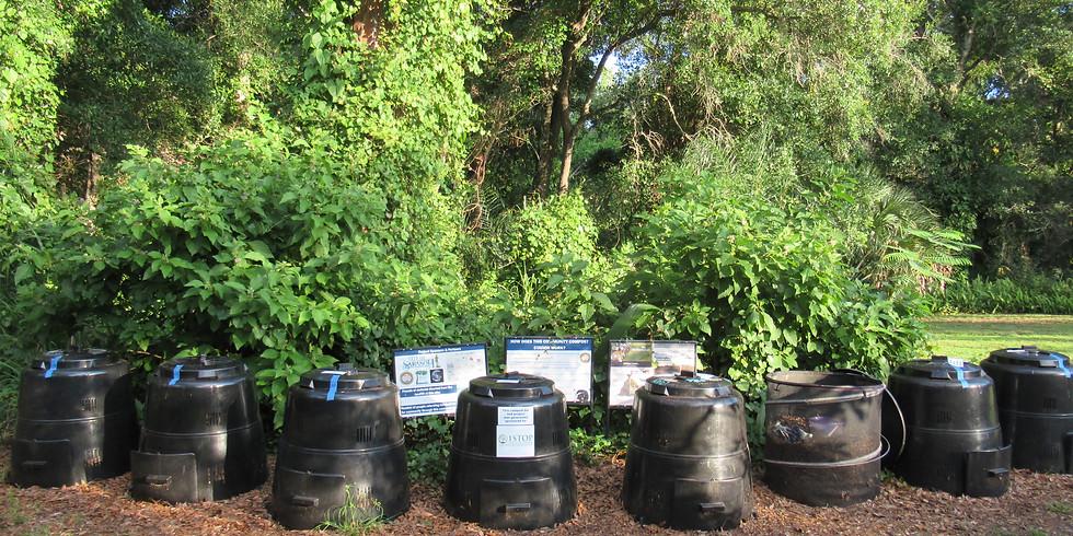 Community Composting - Manatee Square Garden