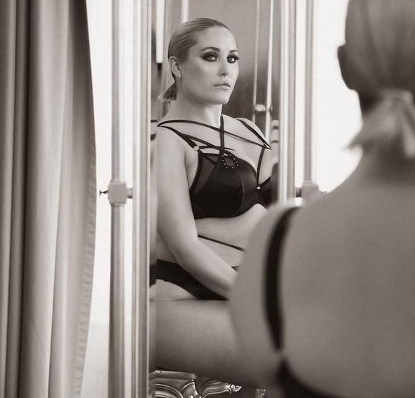 Hayley Hasselhoff, hija de David Hasselhoff es ahora una modelo Plus Size súper sexy