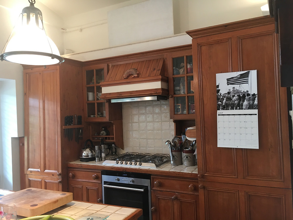 Kitchen before refurbishment work