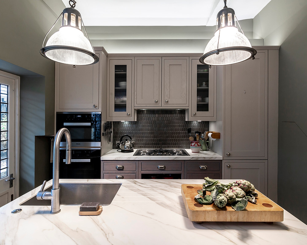 Kensington kitchen renovation view to hob and ovens