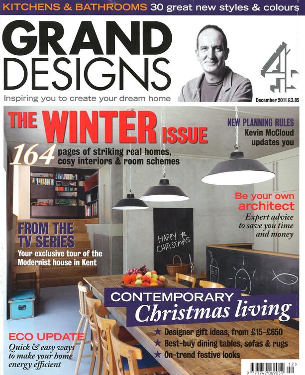 Grand Designs Cover Page
