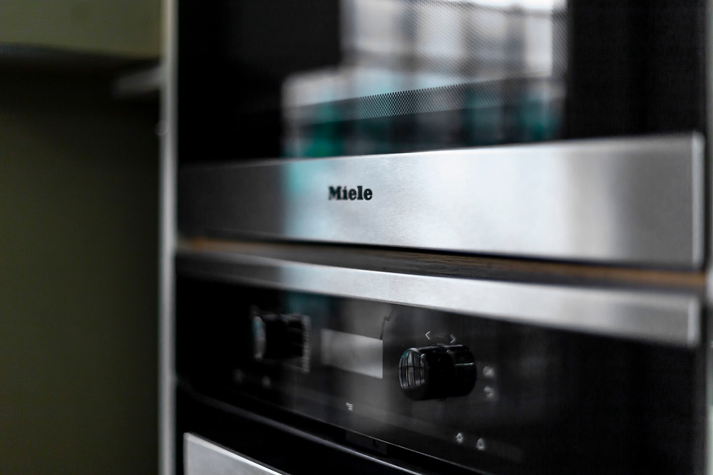 Miele double oven in kitchen renovation