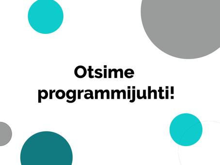 Otsime Jõhvi tehnoloogiakoolile programmijuhti!