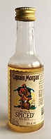 Rum Rhum Ron Captain Morgan Spiced Rum Miniature