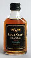 Rum Rhum Ron Captain Morgan Black Label Miniature