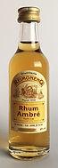 Rum Ron Rhum Reimonenq Ambré Miniature
