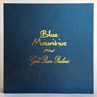 Rum Rhum Ron Blue Mauritius Gold Box