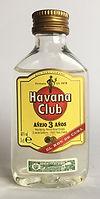 Rum Rhum Ron Havana Club Anejo 3 Miniature