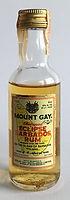 Rum Rhum Ron Mount Gay Refined Eclipse Miniature