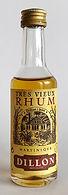 Rum Ron Rhum Dillon Tres Vieux Miniature