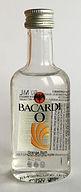 Rum Rhum Ron Bacardi O PET Miniature