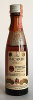 Rum Rhum Ron Bacardi Aňejo Miniature