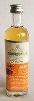 Rum Ron Rhum Labourdonnais Orange Miniature