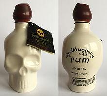 Rum Rhum Ron Skullduggery Miniature