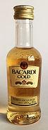 Rum Rhum Ron Bacardi Gold Miniature