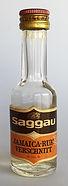 Saggau Jamaica Rum Verschnitt Miniature