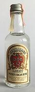 Rum Rhum Ron Don Q Light Miniature
