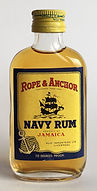 Rum Rhum Ron Rope and Anchor Navy Miniature