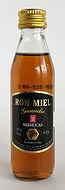 Rum Rhum Ron Arehucas Ron Miel Guanche Miniature