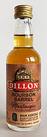 Rum Ron Rhum Dillon Bourbon Barrel Miniature