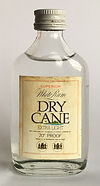 Ron Rhum Dry Cane White Extra Light Rum Miniature