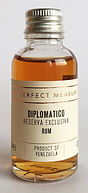 The Perfect Measure Tasting Sample Diplomatico Reserva Exclusiva Miniature