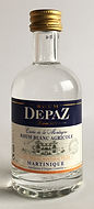 Rum Ron Rhum Depaz Blanc Miniature
