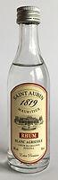 Rum Rhum Ron Saint Aubin Blanc Agricole Miniature