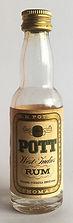 Rum Rhum Ron POTT West Indies Miniature