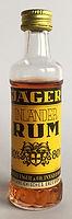 Rum Rhum Ron Jager Inlander Miniature