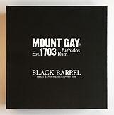 Rum Ron Rhum Mount Gay Black Barrel Miniature