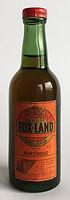 Rum Ron Rhum Fox Land Carte Orange Miniature