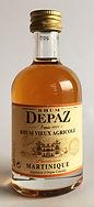 Rum Ron Rhum Depaz Vieux Miniature