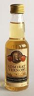 Rum Rhum Ron Admiral Vernon Miniature